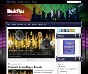 musicplus-blogger-template