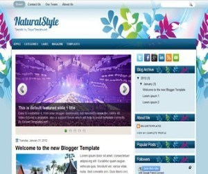 naturalstyle-blogger-template
