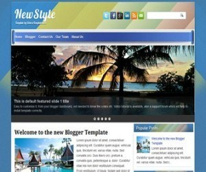 newstyle-blogger-template