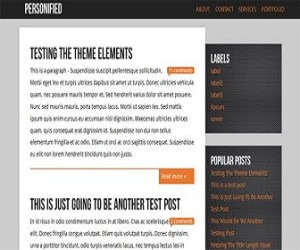 personified-blogger-templates