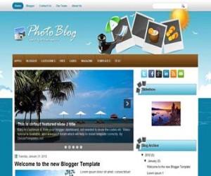 photoblog-blogger-template