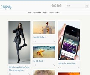 pinfinity-blogger-template