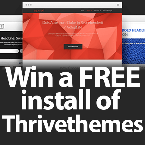 Win Thrivethemes $500 value