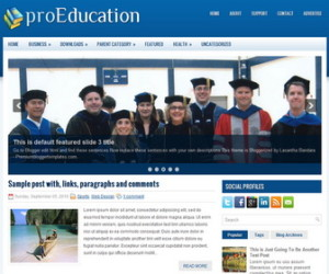 proEducation-Blogger-Template