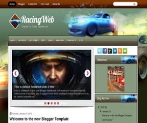 racingweb-blogger-template