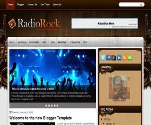 radiorock-blogger-template