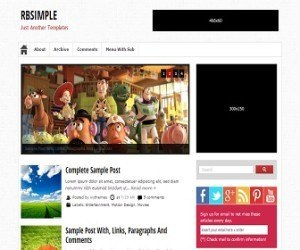 rbsimple-blogger-template