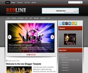 redline-blogger-template