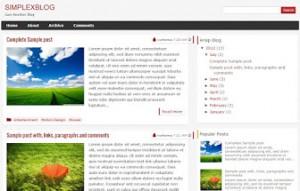 simplexblog-blogger-template