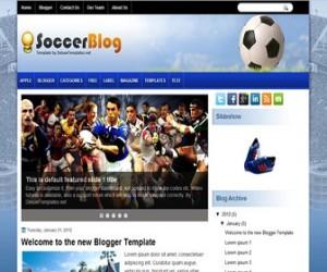 soccerblog-blogger-template