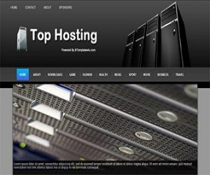 top-hosting-blogger-template