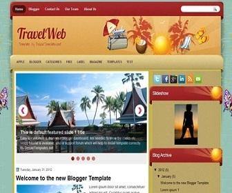 travelweb-blogger-template